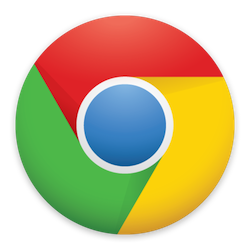 Google Chrome Icon, A coloured orb